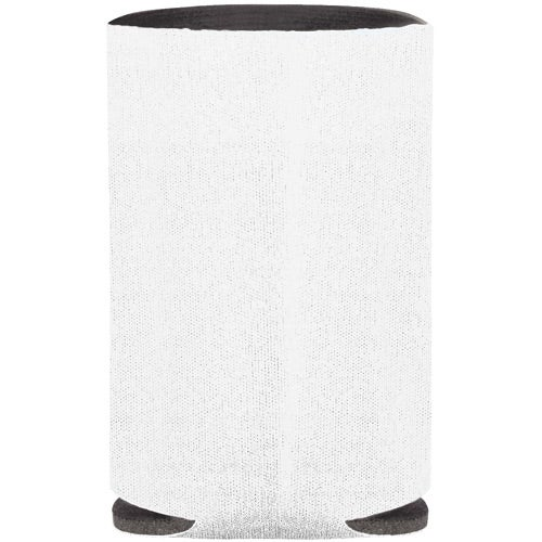 Collapsible Koozie Can Cooler (White)