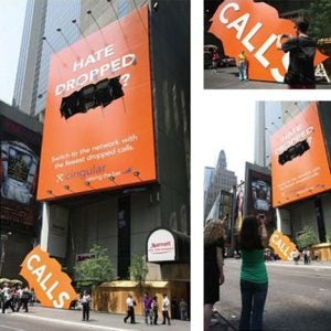 Guerrilla Marketing: Cingular