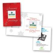 Safe/Ad Season's Greetings Greeting Card