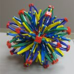 Hoberman Rainbow Sphere - (The Office)
