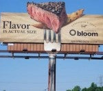 Bloom's Steak-Scented Billboard