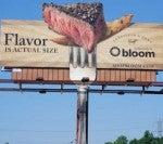 Bloom's Steak-Scented Billboard
