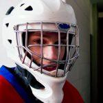 Ice Hockey Helmet Night