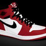 Red and Black Air Jordans