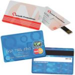 Credit Card Size USB Flash Drive (4GB)