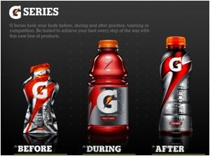 "Gatorade's ""G Series"""