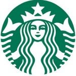 "The new Starbucks logo - notice the absence of the ""Starbucks Coffee"" text"