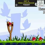 The angry birds' collective goal? Defeat the evil pigs by any means necessary!