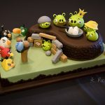 The game's popularity extends to tangible forms, like board games and even cakes.