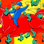 Hooray, the money horse has arrived!