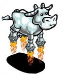 Chrome Cows are one exclusive in Zynga's Gagaville.
