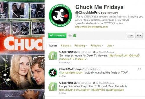 Chuck Me Fridays