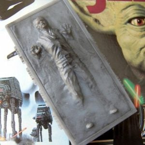 Han in Carbonite Soap