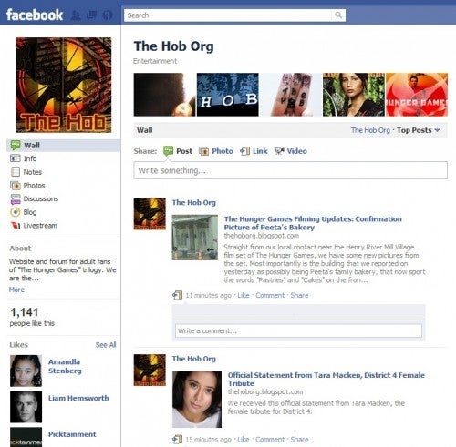 The Hob on Facebook