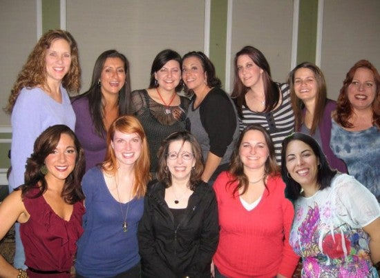 Front row: Megan, Amanda, Lee, Jessica, Yara \ Back row: Jennifer, Barb, Gabby, Holly, Pauline, Michelle, Kathryn