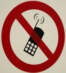 Cell phones don't belong in the CINEMA!