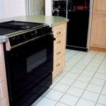 Buy pre-owned appliances to save money.
