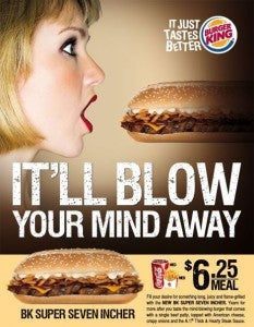 Suggestive much, BK?