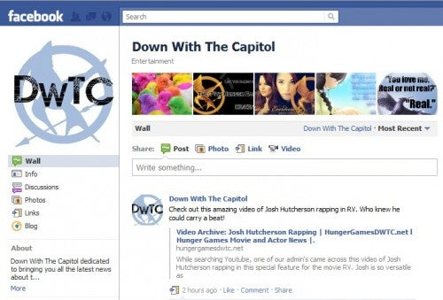 Down With the Capitol Facebook