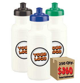 $360 gets you 250 personalized sports bottles!