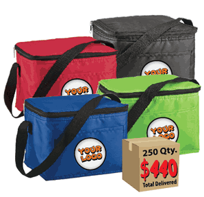 250 cooler bags for $440 - what a deal!