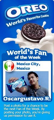 Oreo's Fan of the Week contest