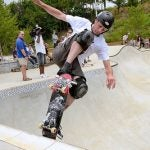 Tony Hawk is a huge hit on the half-pipe and on Twitter!