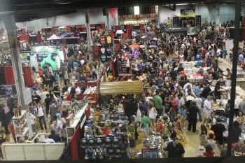 Convention floor