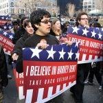 Harvey Dent campaign rallies