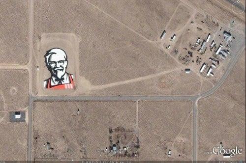 KFC astrovertisement