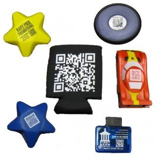 QR code promotional items