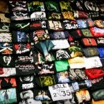 Sea of t-shirts
