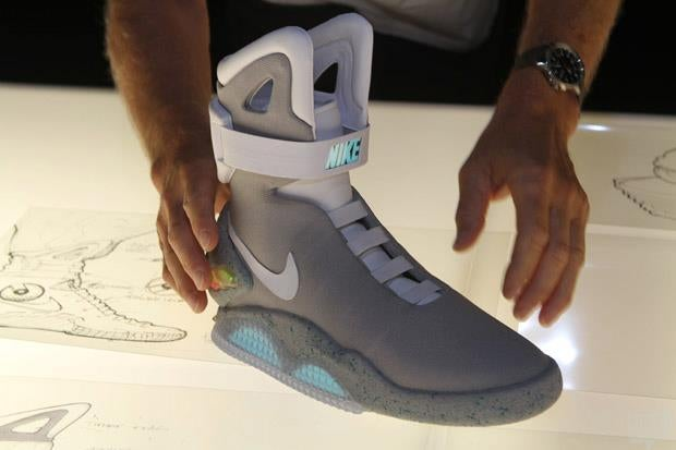 Would Nike MAGs have fetched more if the laces were powered?