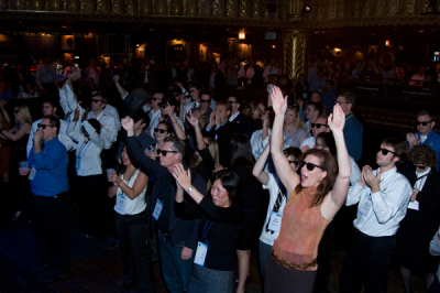 Promotional Sunglasses in Action at the House of Blues