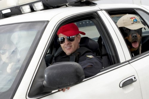 police cop dog cruiser car promo product hat