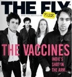The Vaccines on a Magazine Cover