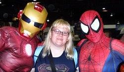 Iron Man Spider-man Chicago Comic Con