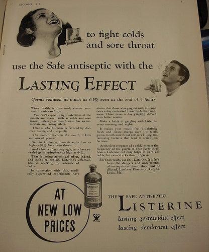 Listerine ad