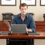 Richard Castle social media