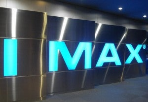 IMAX logo theater