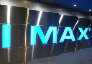 IMAX logo theater