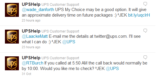 ups customer service chat questions