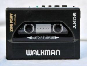 cassette, deck, sony, walkman