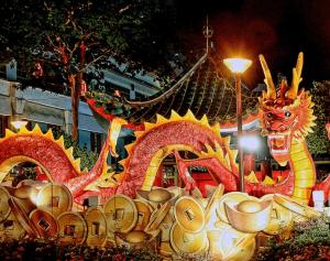 China New Year's Eve