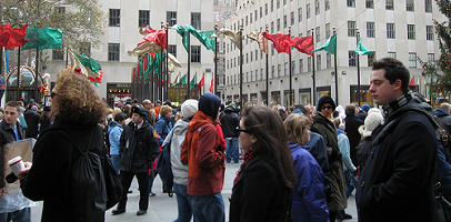 30 Rock Christmas Save Community flash mob