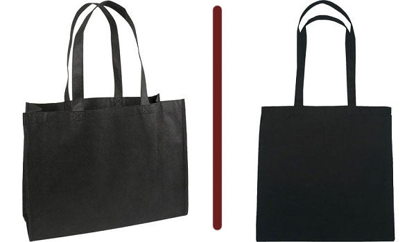 nonwoven polypropylene canvas tote bag