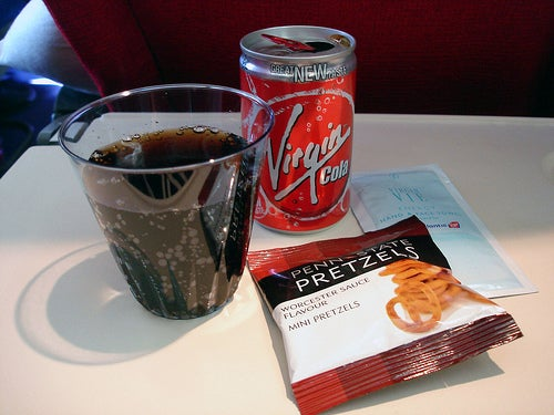 Virgin Airline: Food and Drink Options