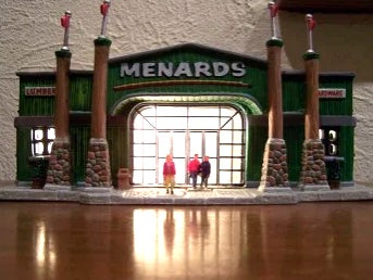Menards Holiday Ornament