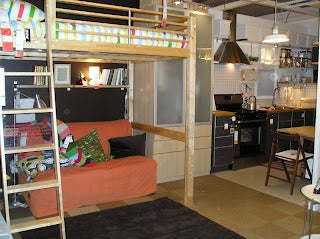 One apartment. 270 square feet. You do the math.