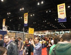 c2e2 show floor vendors